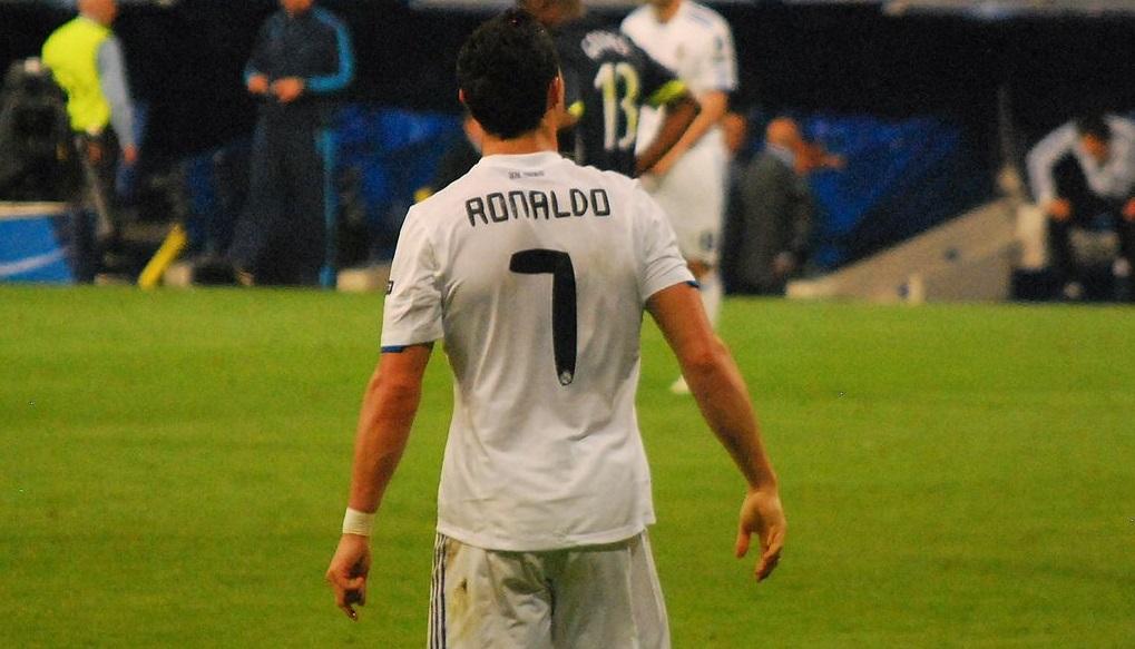 Cristiano Ronaldo - number 7