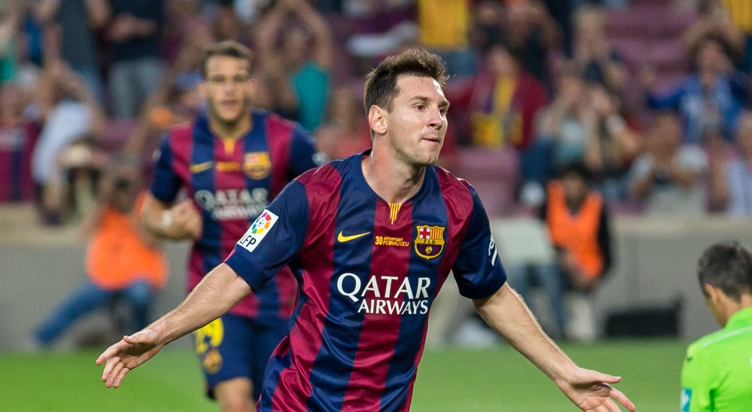 Leo Messi leads Barcelona to yet another victory