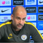 Happy at Man City: Pep Guardiola has verbally agreed to a short contract extension
