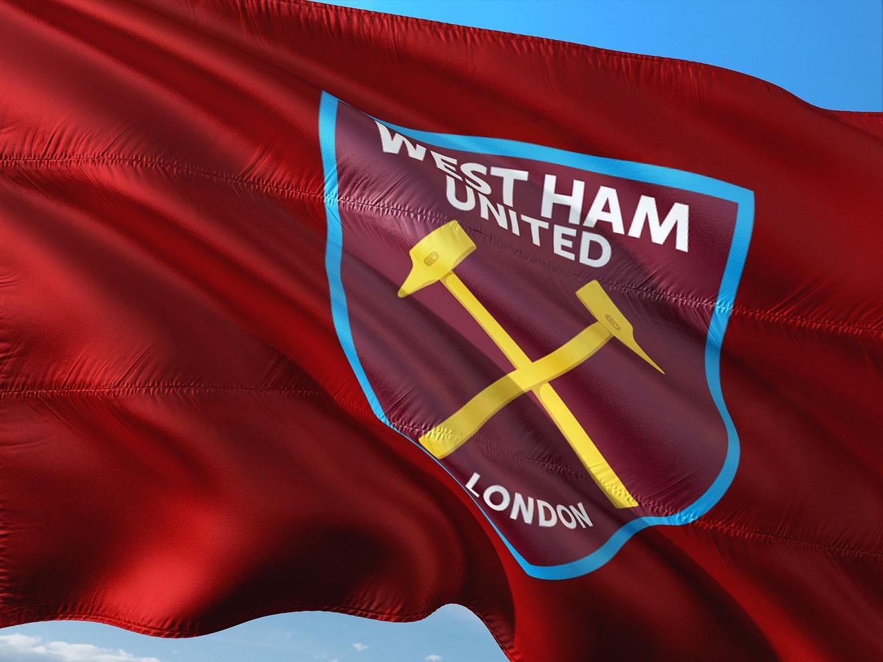 Flag of West Ham - Premier League club