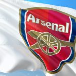 Flag of Arsenal - the Premier League Giants