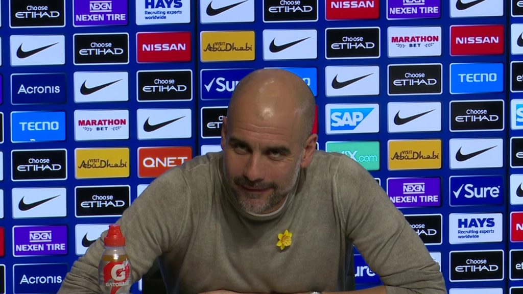 Pep Guardiola - Manchester City manager
