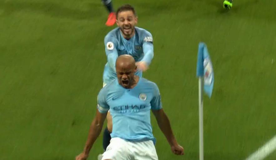 Vincent Kompany - Man City's captain fantastic does it again