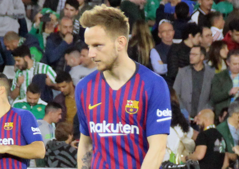 Ivan Rakitic in a match for Barcelona