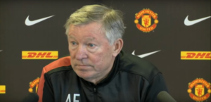 Sir Alex Ferguson - legendary Manchester United boss