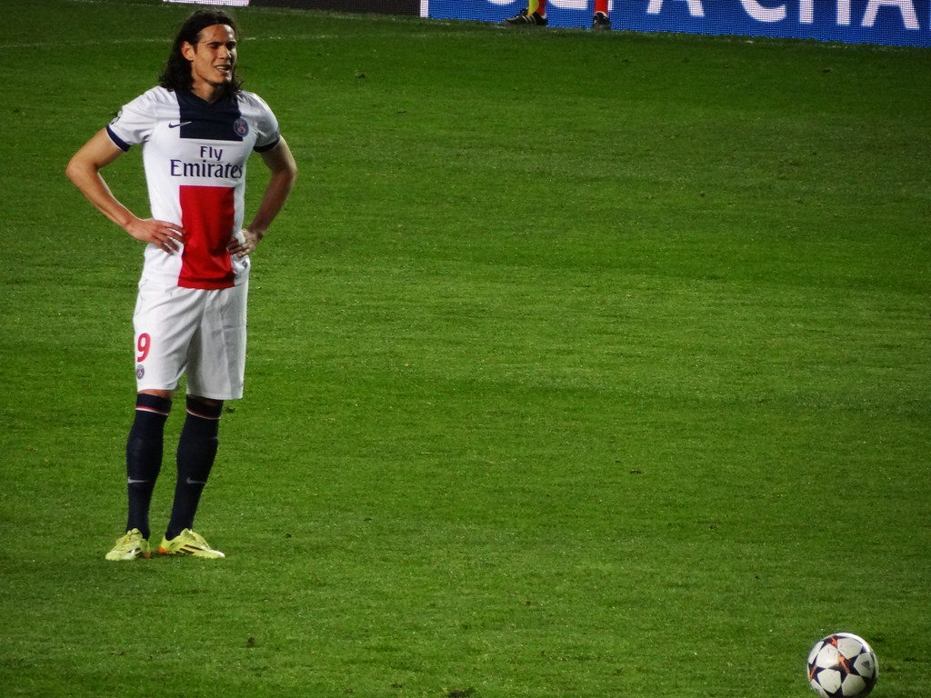 Edison Cavani - PSG's all time leading goal scorer