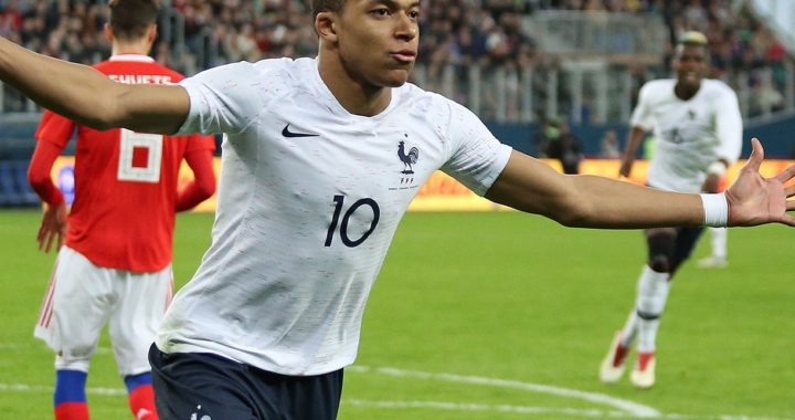 Kylian Mbappe - French Forward