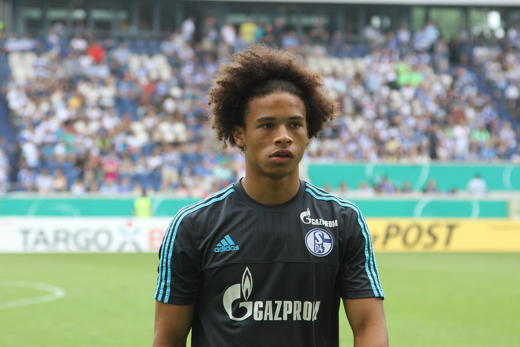 Leroy Sane - Former Schalke and Man City player