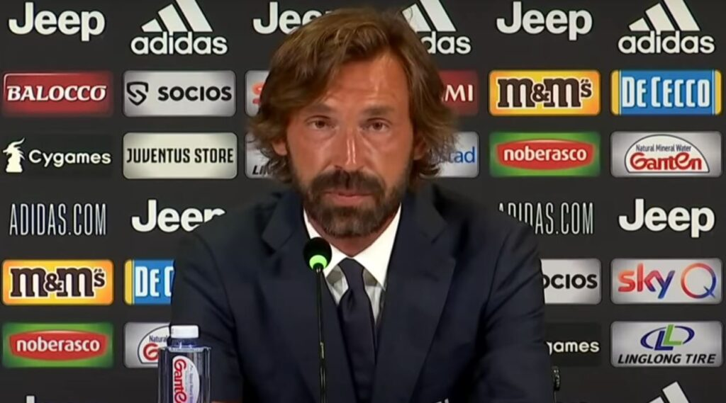 Andrea Pirlo - Juventus Manager