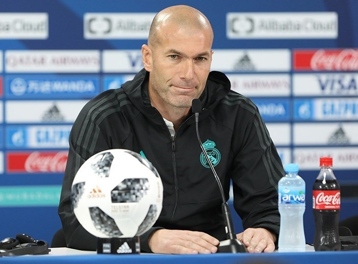 Zinedine Zidane - Real Madrid | [[Image by Tasnim - https://commons.wikimedia.org/wiki/File:Zinedine_Zidane_by_Tasnim_02.jpg]]