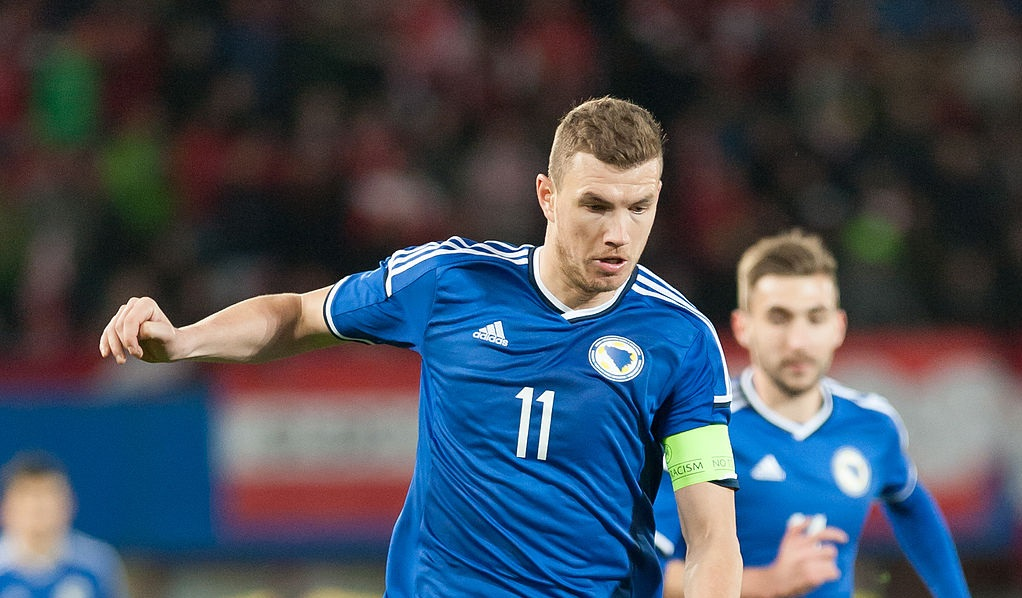 Edin Dzeko - Bosnia | Ailura, CC BY-SA 3.0 AT / CC BY-SA 3.0 AT (https://creativecommons.org/licenses/by-sa/3.0/at/deed.en)