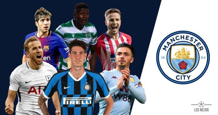 Man City - 2021 Transfer Targets