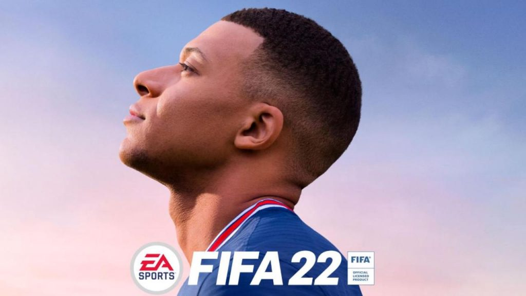 FIFA 22 - Mbappe Cover